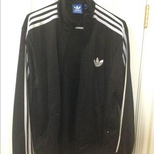 Adidas sweat suit jacket